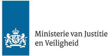 Ministerie van Justitie en Veiligheid Logo